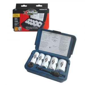 Blu-Mol Xtreme Bi-Metal 7pc Hole Saw Kit