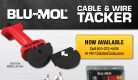 Blu-Mol Cable Tacker