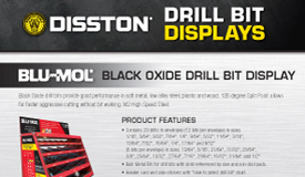 Blu-Mol Drill Bit Display