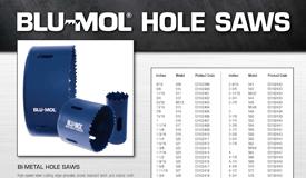 Blu-Mol Bi-metal Hole Saws