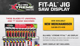 Blu-Mol Xtreme Fit-Al Jig Blades
