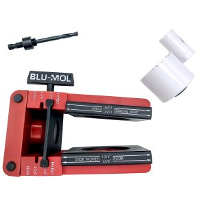 Blu-Mol Lock Installation Kits Professional Bi-Metal Lock Kit