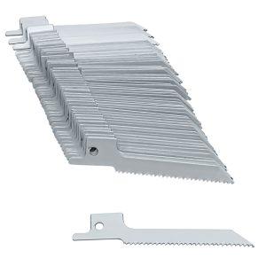 3 x 5/16 x .035-Inch Blu-Mol Bi-Metal Reciprocating Saw Blades, Metal Cutting, 14-Scroll Teeth Per Inch, 90 x 8 x 0.90mm, 50 Count