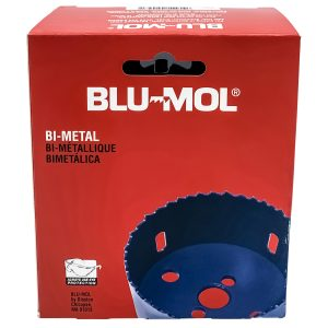 4-Inch Boxed Blu-Mol Bi-Metal Hole Saws, 102mm