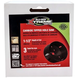 4-Inch Blu-Mol Xtreme Carbide Tipped Hole Saws Boxed, 102mm