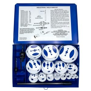 Boxed Blu-Mol Xtreme Bi-Metal Hole Saw Industrial Kits, 20-Piece