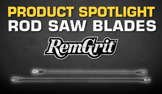 Product Spotlight Rod Saw Blades